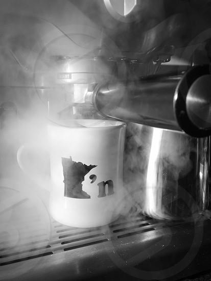 Espresso steam Minnesota photo