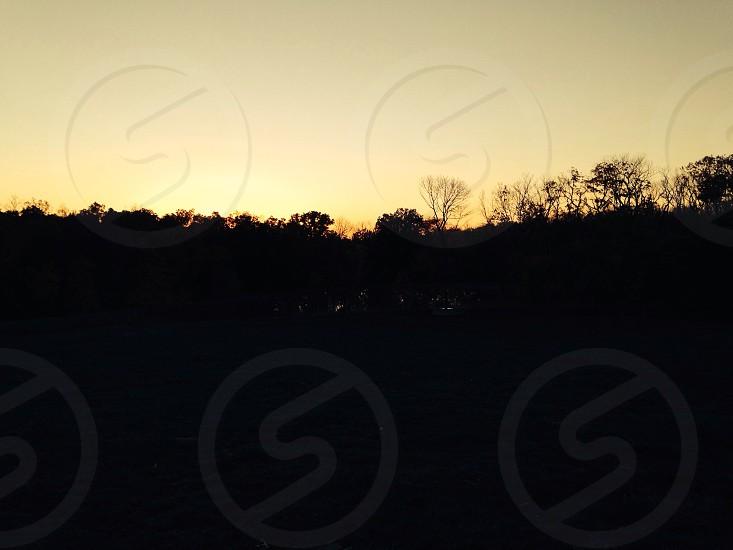 Evening sunset photo