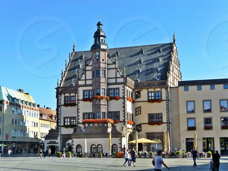 Old town hall in Schweinfurt Germany. photo