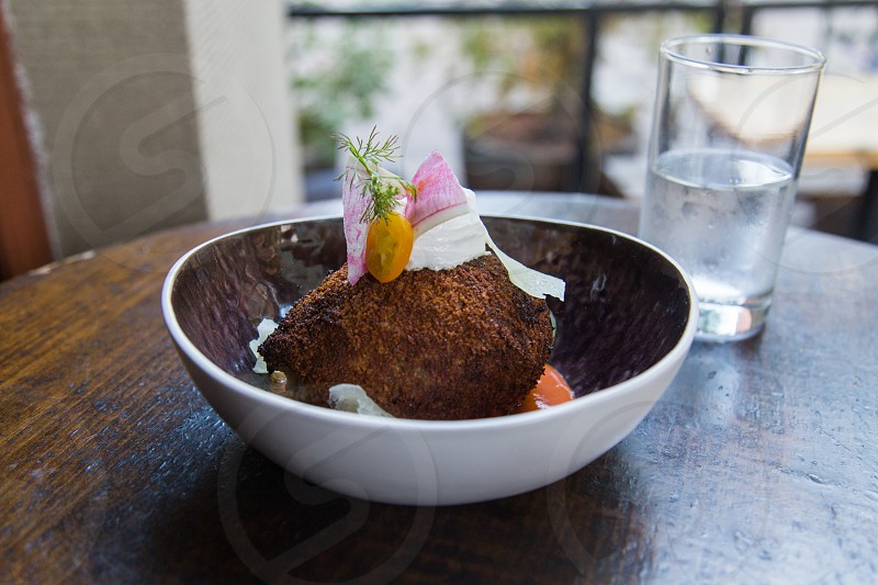coconut dish photo