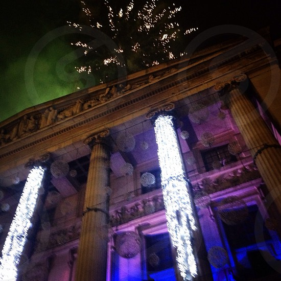 Nottingham Christmas lights photo