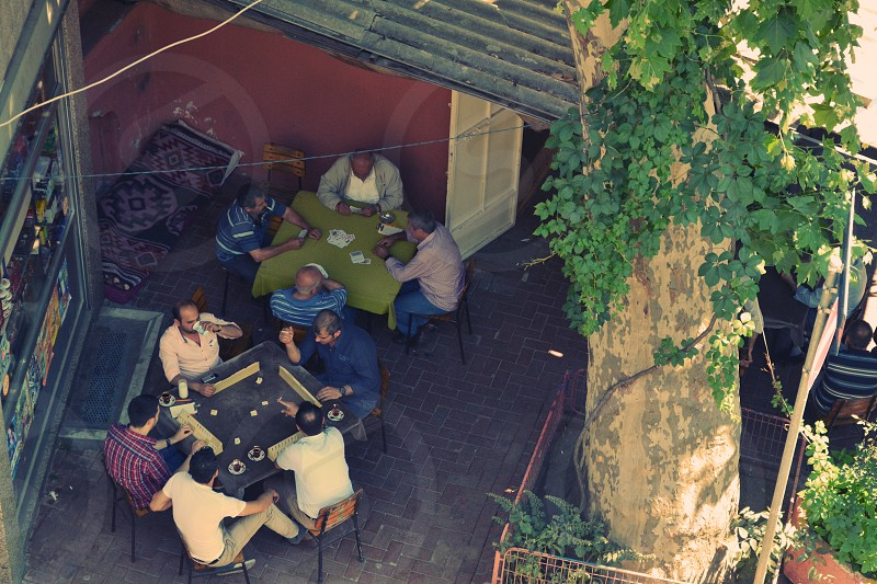 Turkey men playing games photo
