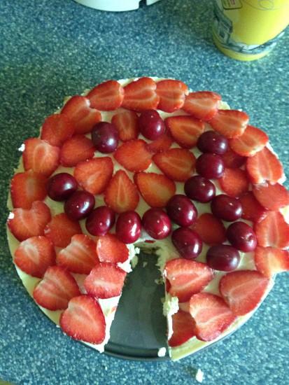 :P strawberry cheesecake photo