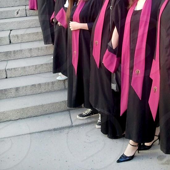 Graduation day. Sofia Bulgaria photo