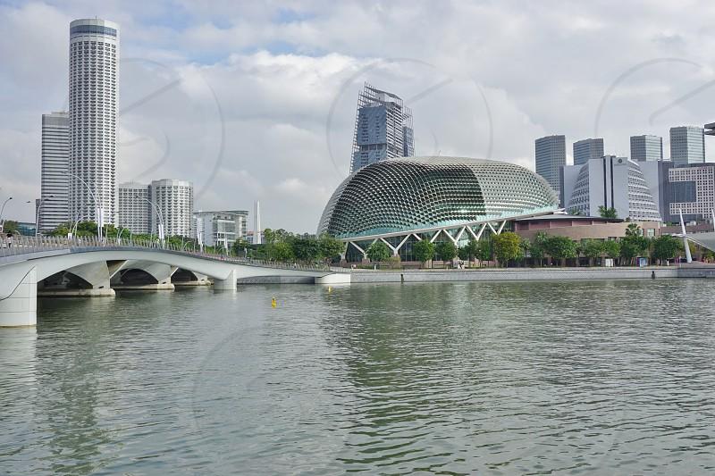 Esplanade - Theatres on the Bay - Singapore photo