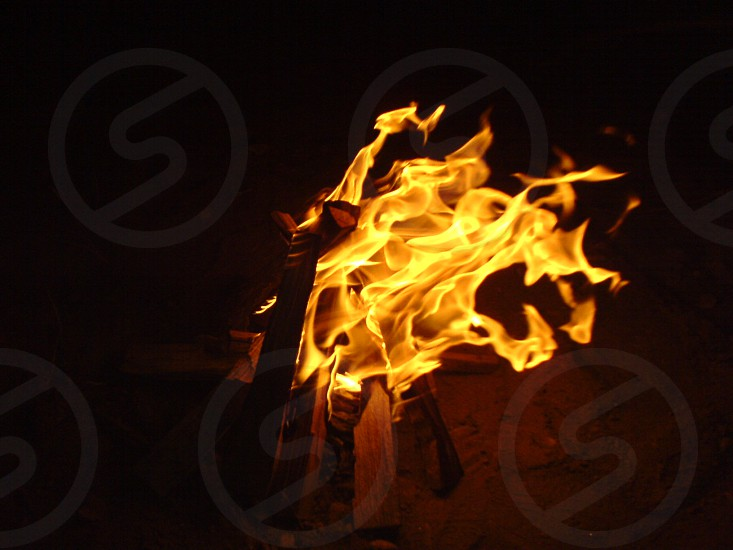 abstract fire photo