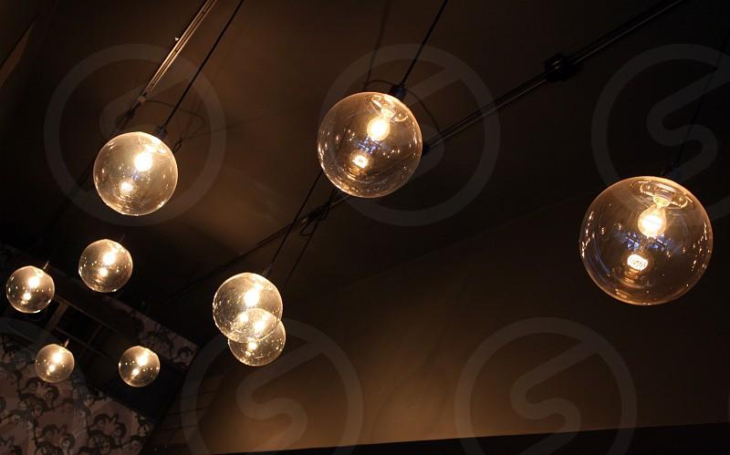 Flashing lights.  photo