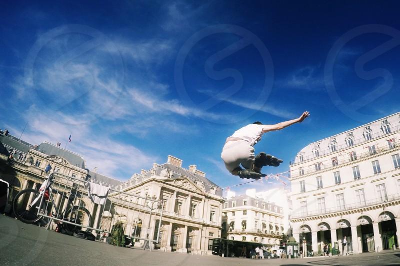 Paris Sky citi life travel destination photo