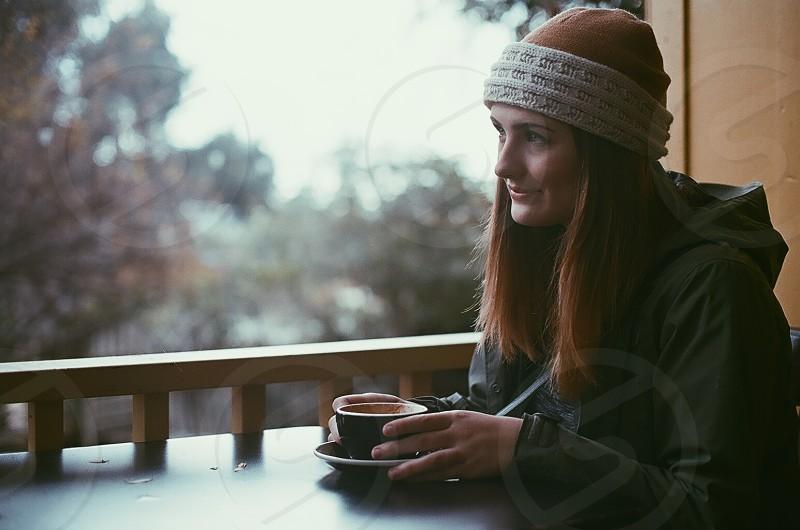 black coffee mug photo