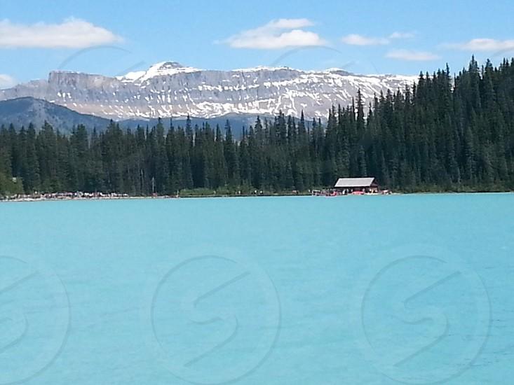 Lake louise in Canada  photo