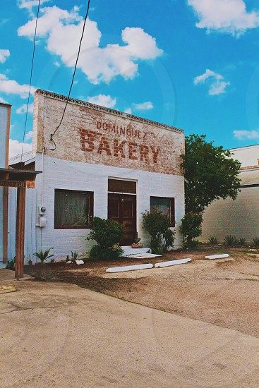 dominguez bakery building closed photo