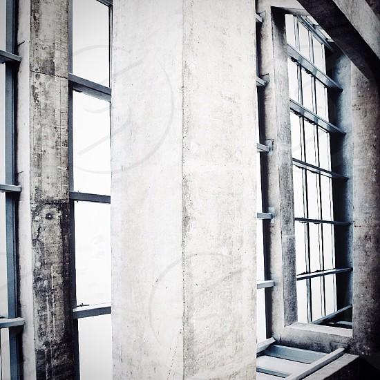 grey wall paint photo