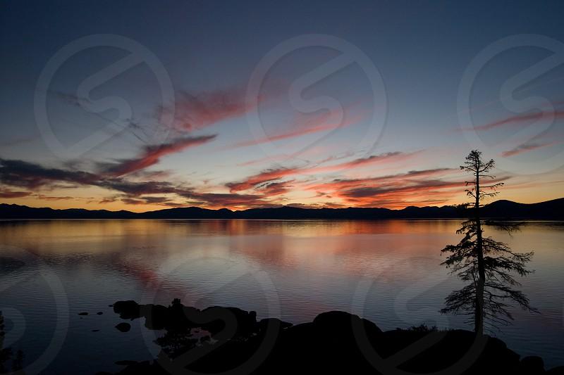 Lake Tahoe Sunset photo