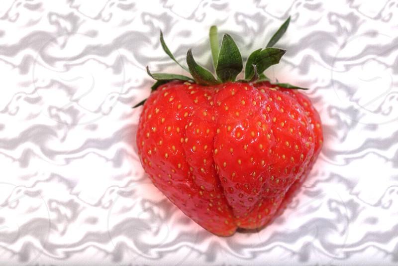 Strawberries n cream photo