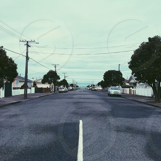 The quiet streets of Petone photo