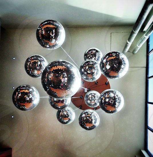 discoball hanging photo