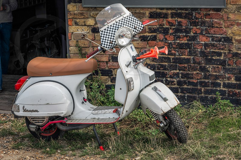Old Italian Scooter photo