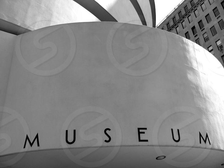 Architecture Black and White Guggenheim Exterior New york City photo