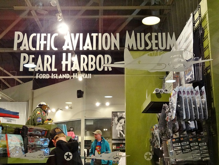 The Pacific Aviation Museum in Pearl harbor Honolulu Hawaii photo