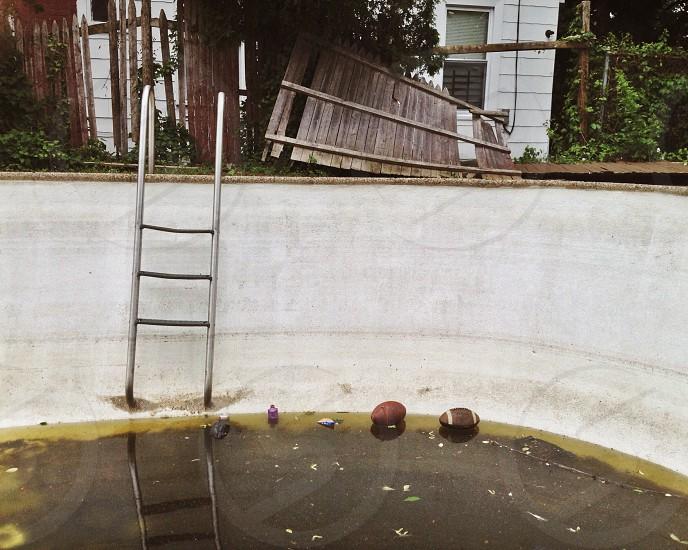 swimming pool  ladder  photo