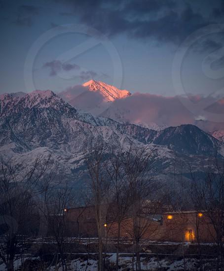 White Mountains range photo