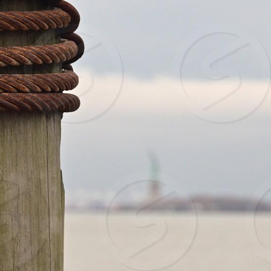 brown steel rope photo