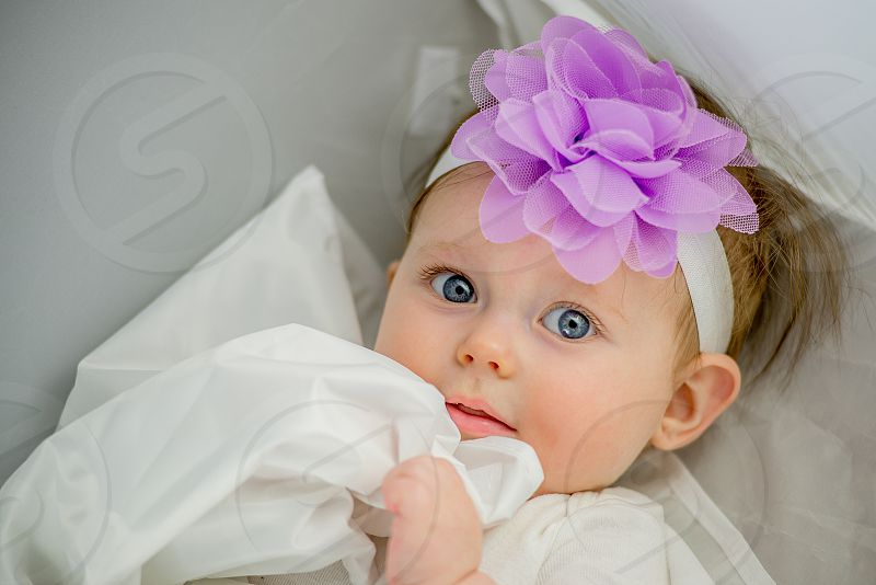 Baby eyes cute photo