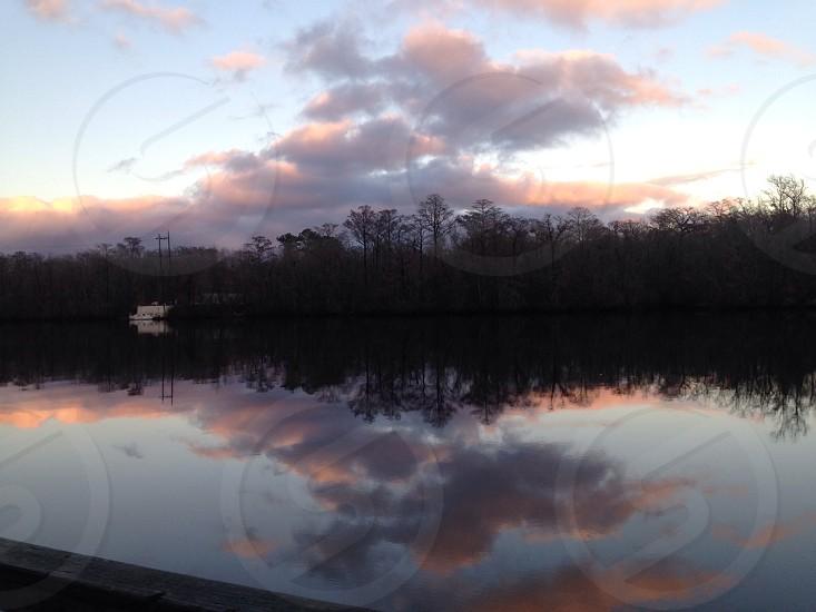 Beautiful River Mirror photo