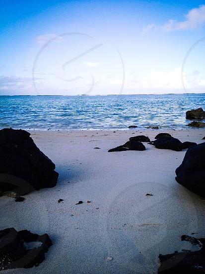 Вечерний пляж photo