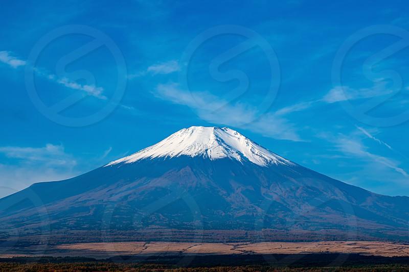 Mt. Fuji Lake-Yamanaka Yamanashi Nov 2 2019 photo