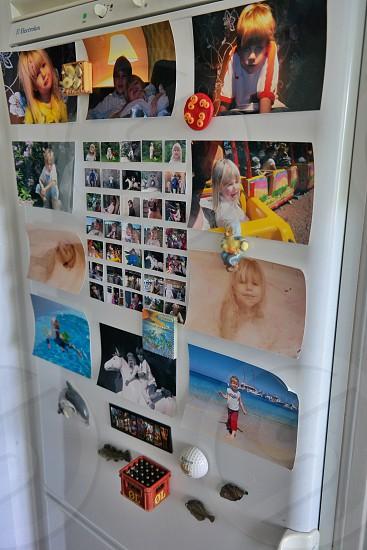 girl's photo collage photo