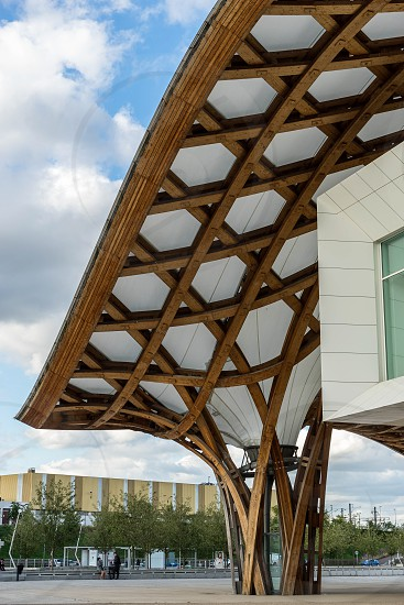 Pompidou Centre in Metz Lorraine Moselle France photo