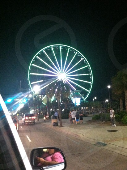 Sky wheel t the beach! photo