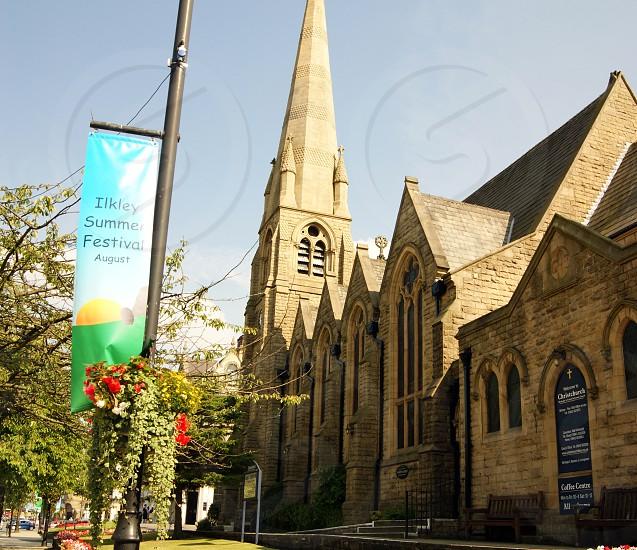 UK. ENGLAND. WEST YORKSHIRE Ilkley. The Grove Christchurch. photo