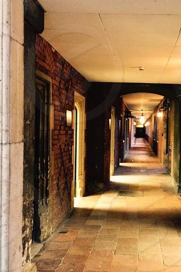The long hallway  photo