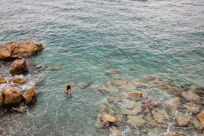 France sea swim adventure explore water vacation wander photo