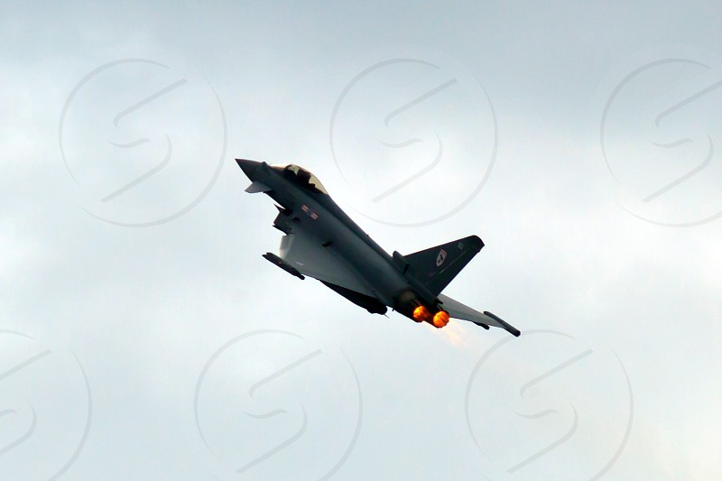 Euro Fighter with afterburn photo