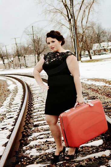 Classy lady is going on a adventure... photo