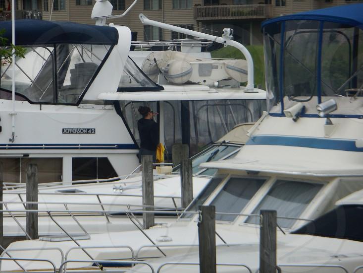 dock side photo