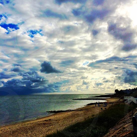 Nature beach ocean photo