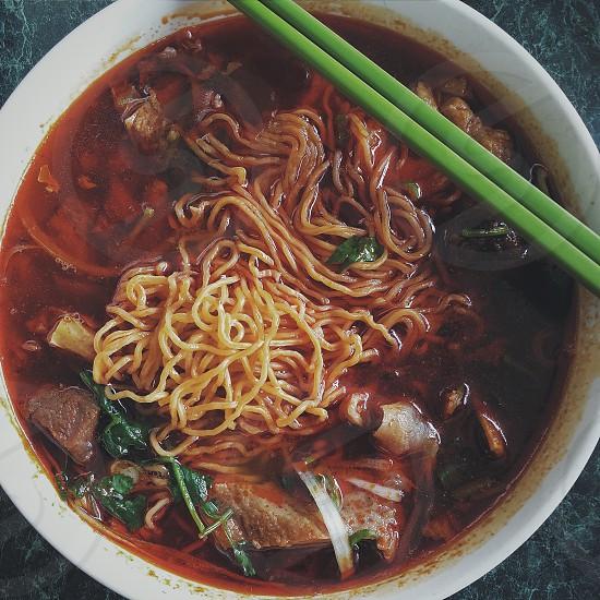 Pho Noodle Beef Stew Vietnamese Food photo