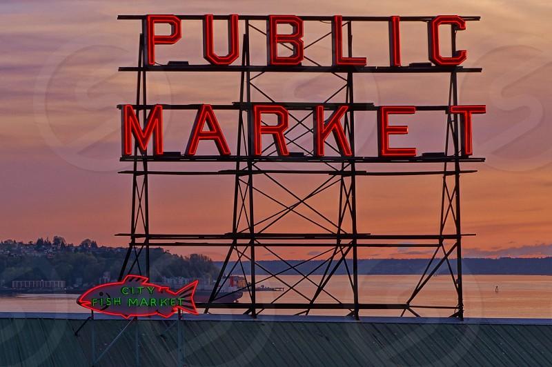 Pike Place Market - Seattle WA photo