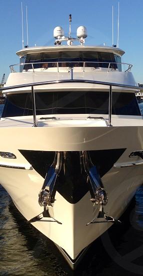 Yacht  yachting.  photo