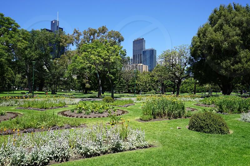 Carlton Gardens - Melbourne Victoria. Australia photo