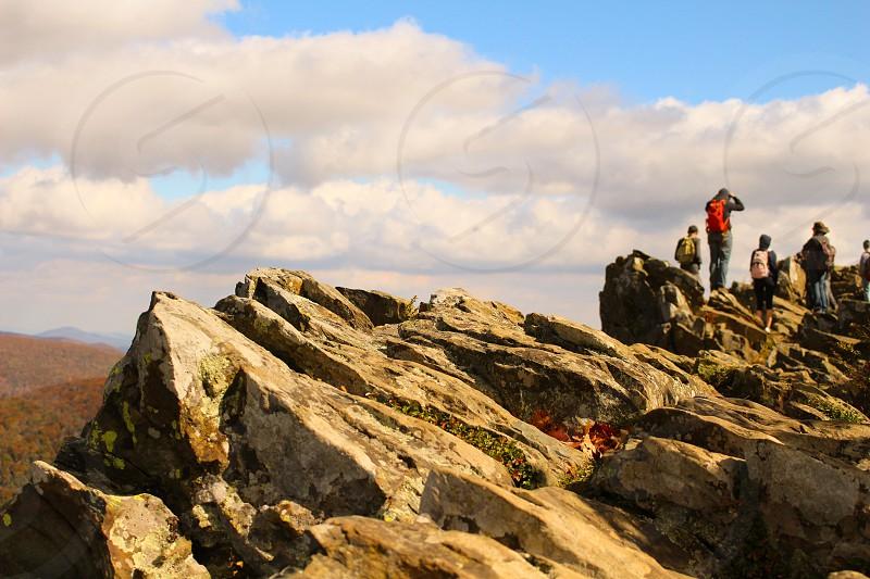 Hawksbill Mountain Summit Shenandoah National Park outside view photo