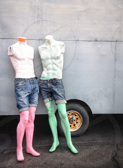 Two mannequins  photo
