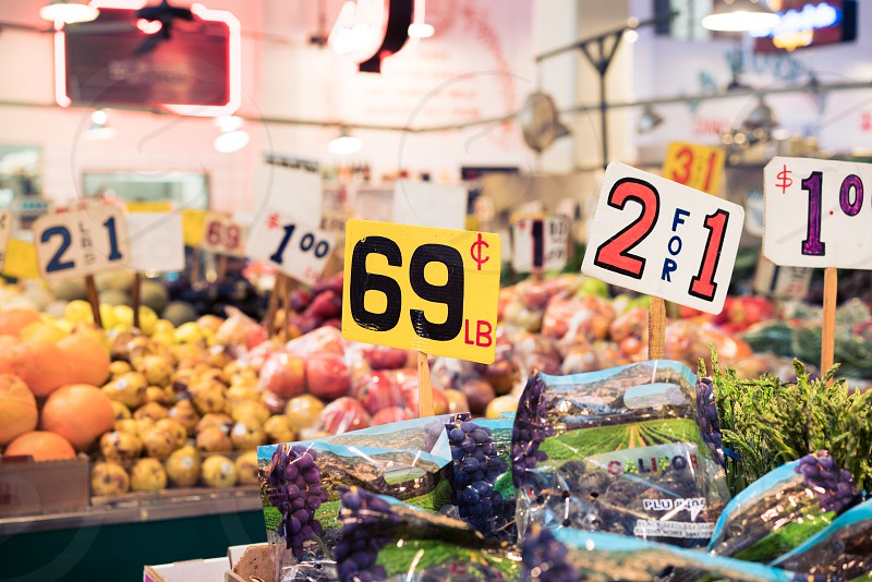 price food grocery store shop fruit vegetables market photo