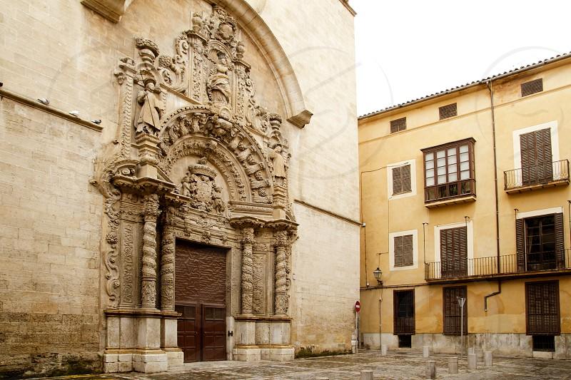 church of Montesion Monti Sion in Majorca at Palma de Mallorca Spain photo