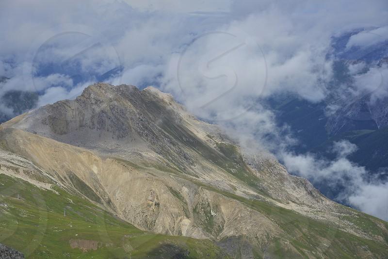 Beautiful swiss alps in southern Switzerland. photo