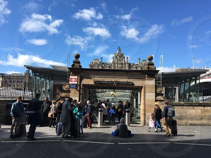 Waverly Station Edinburgh photo